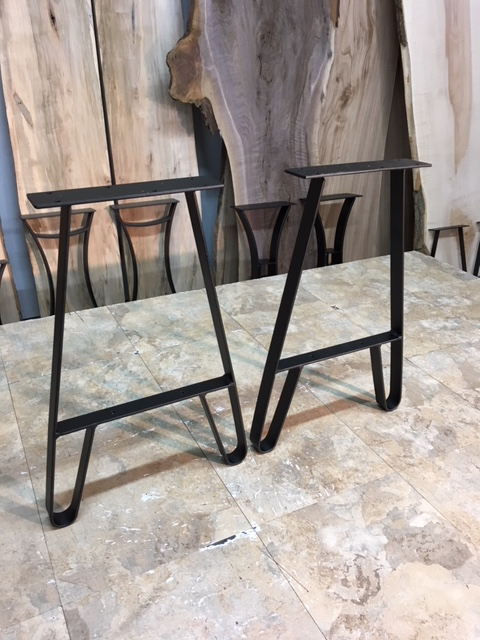 Metal bench legs for sale ohiowoodlands metal table legs for 10 inch high table